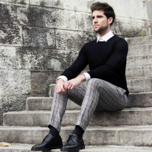 Outfit: Hugo Boss