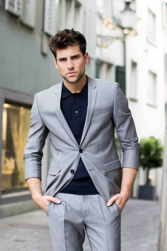 Suit: Hugo Boss by PKZ MEN