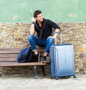 Suitcase & Backpack: American Tourister by Samsonite